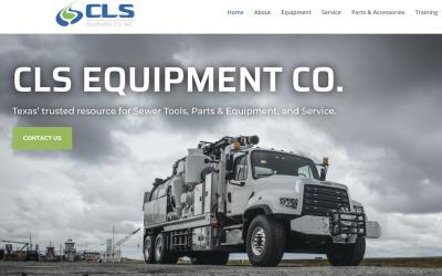 CLS EQUIPMENT CO. ANNOUNCES IT'S NEW WEB SITE